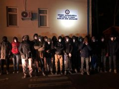Batman'da 44 düzensiz göçmen yakalandı