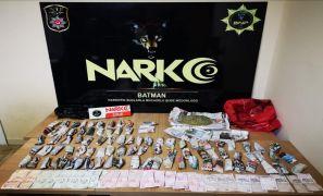 Batman'da uyuşturucu operasyonu: 5 kişi tutuklandı