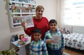 Salgın döneminde okuduğu kitaplardan etkilendi, 9 yaşında ilk kitabını çıkardı