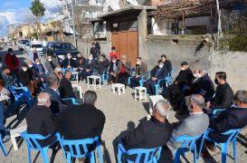 AK Parti Batman İl Başkan Gür vatandaşlarla bir araya geldi