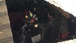 Batman'da 4. kattan düşen işçi ağır yaralandı