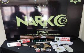 Batman'da uyuşturucu operasyonu: 7 gözaltı