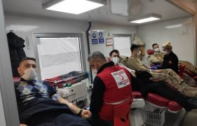 Gercüş'te kan bağışı kampanyası