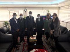 Şehit aileleri ve gazilerden Batman Emniyet Müdürü Kıraç'a Polis Haftası ziyareti