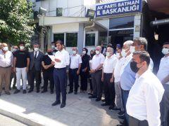 AK Parti Batman il teşkilatı Menderes'i andı