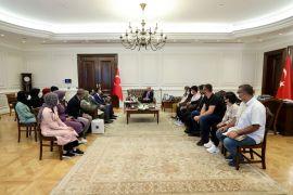 Batman Üniversitesi Rektörü Demir ile Öğrenciler İçişleri Bakanı Soylu'yu ziyaret etti
