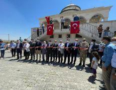 Gercüş'te Millet Camii ibadete açıldı