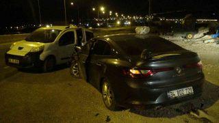 Gercüş'te zincirleme kazada yol savaş alanına döndü: 6 yaralı